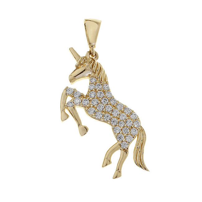 Arany unikornis medál
