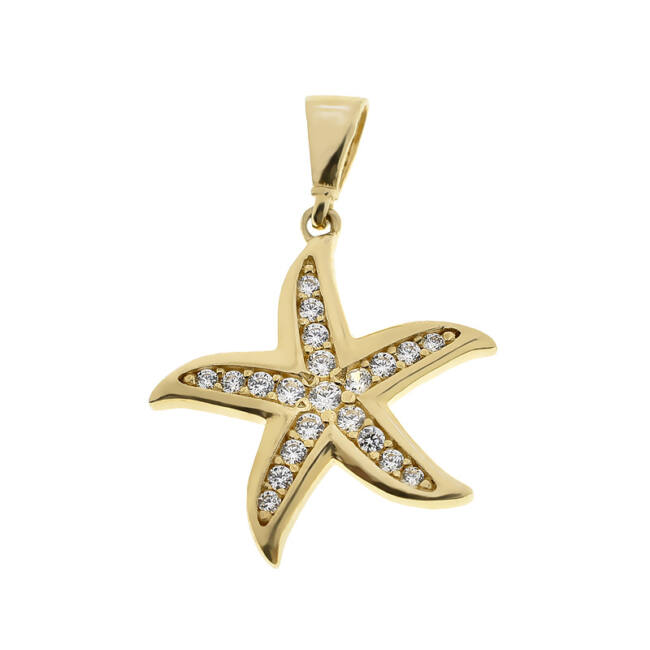 Arany tengeri csillag medál