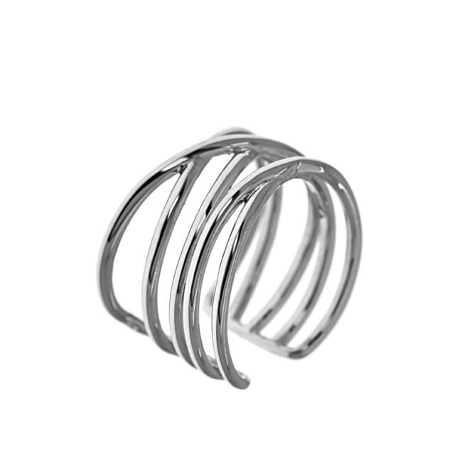 Állítható fantázia ezüst gyűrű