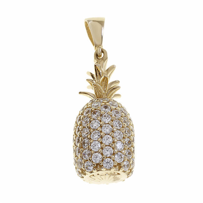 Arany ananász medál