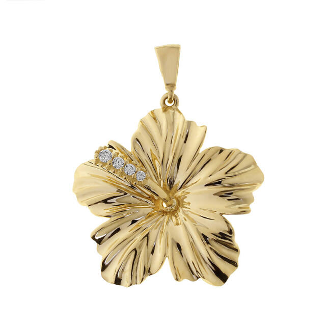 Arany virág medál
