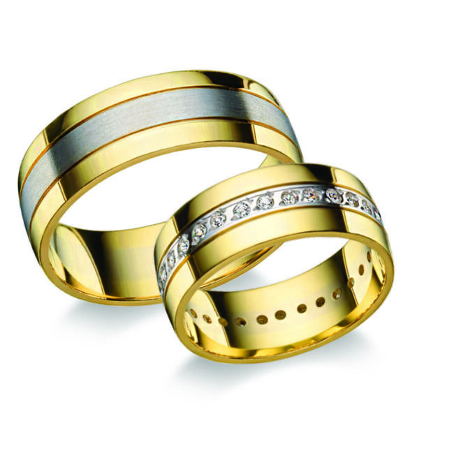 Arany karikagyűrű - B5